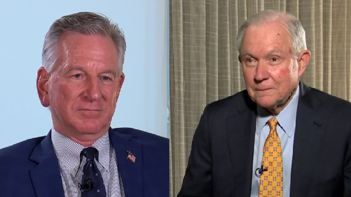 Tommy Tuberville and Jeff Sessions