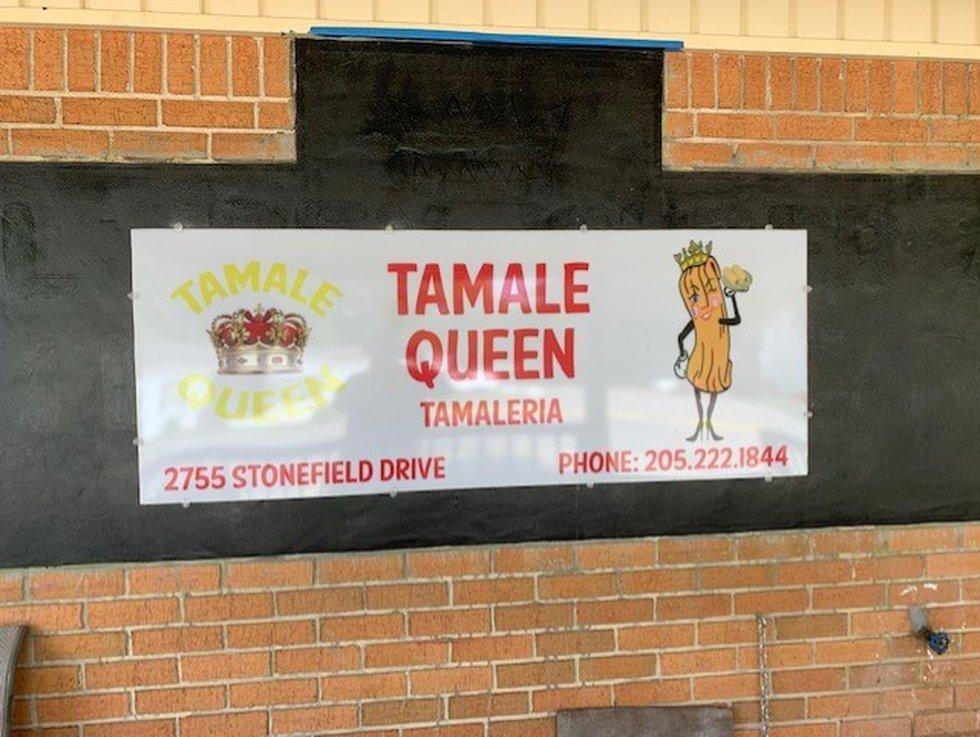 The Tamale Queen.