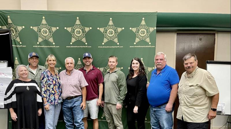 Law enforcement officers from Etowah County enroll in the World Trade Center Health Program.