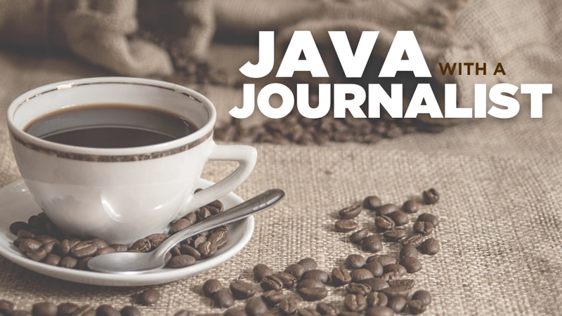WBRC Java with a Journalist