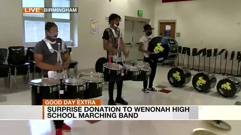 Beat goes on for Wenonah High band