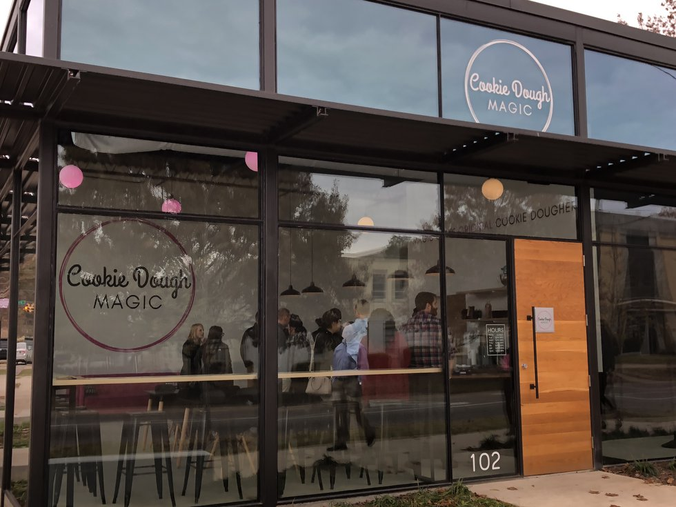 New cookie shop that serves raw cookie dough opens in Birmingham's Avondale community.