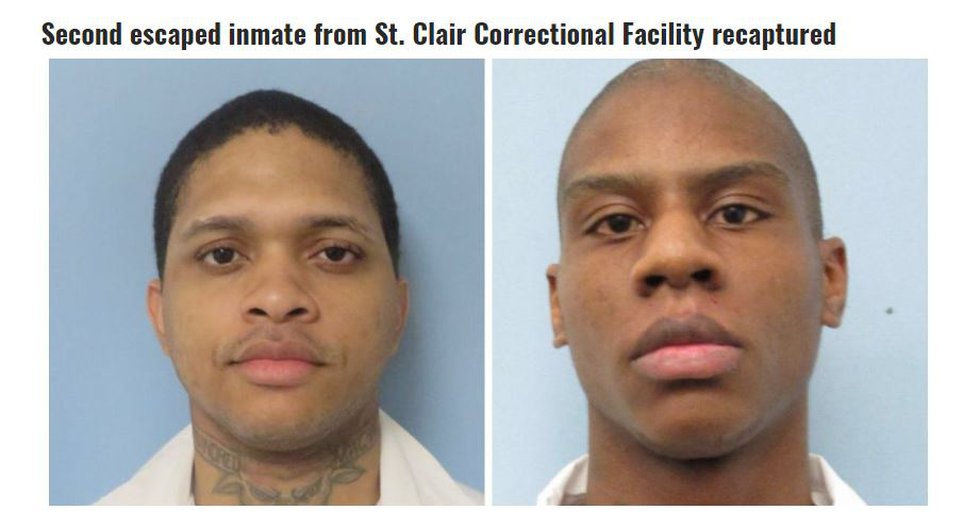 Antwone Wilson (L) and Ronald King (R)