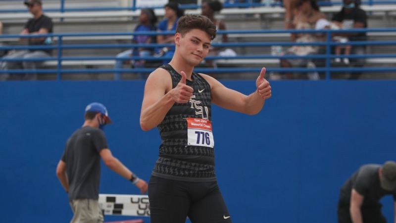 Winfield native Trey Cunningham will compete in the 110-meter hurdles at the U.S. Olympic Track...