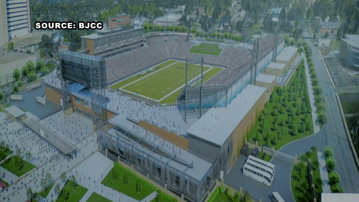 Drawings of Protective Stadium