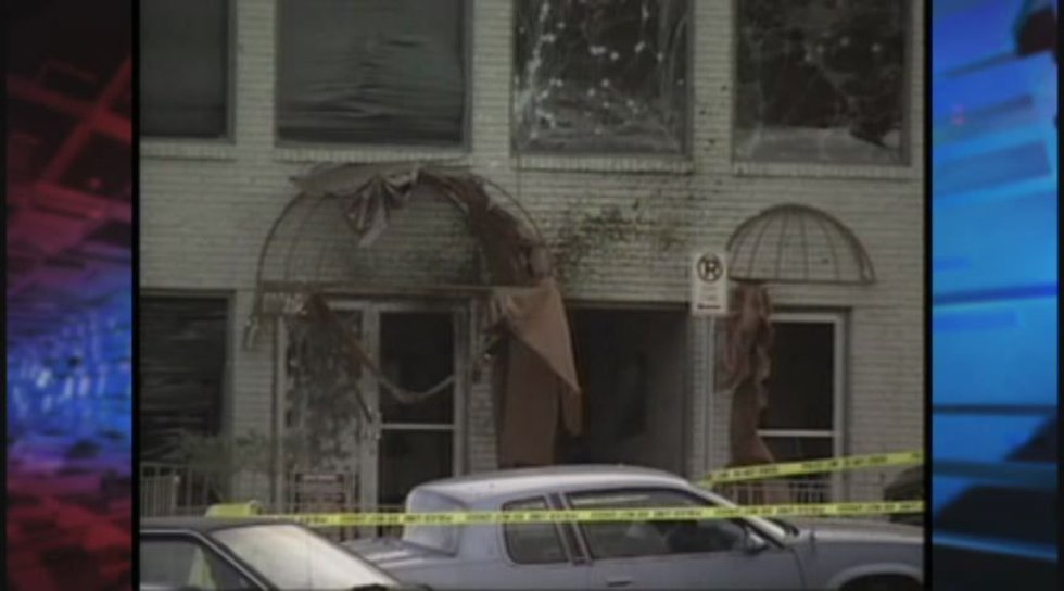 The New Woman All Woman clinic was bombed Jan. 29, 1998. Source: WBRC file video