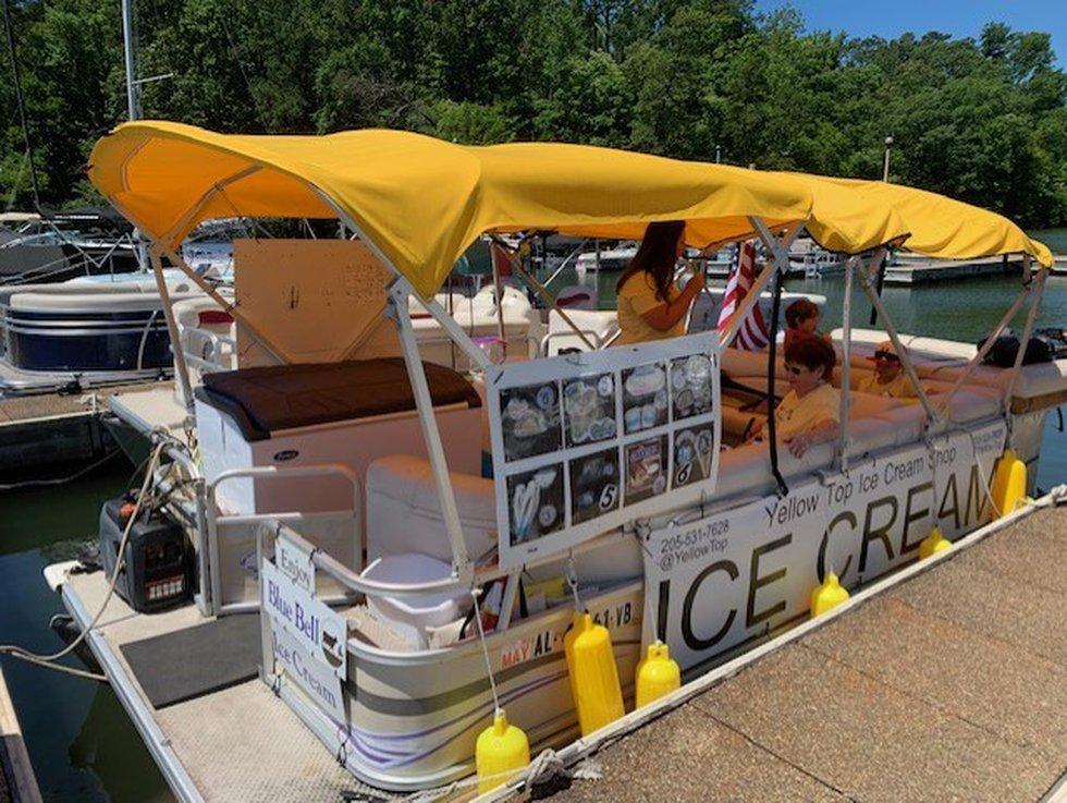 Yellow Top Ice Cream Shop