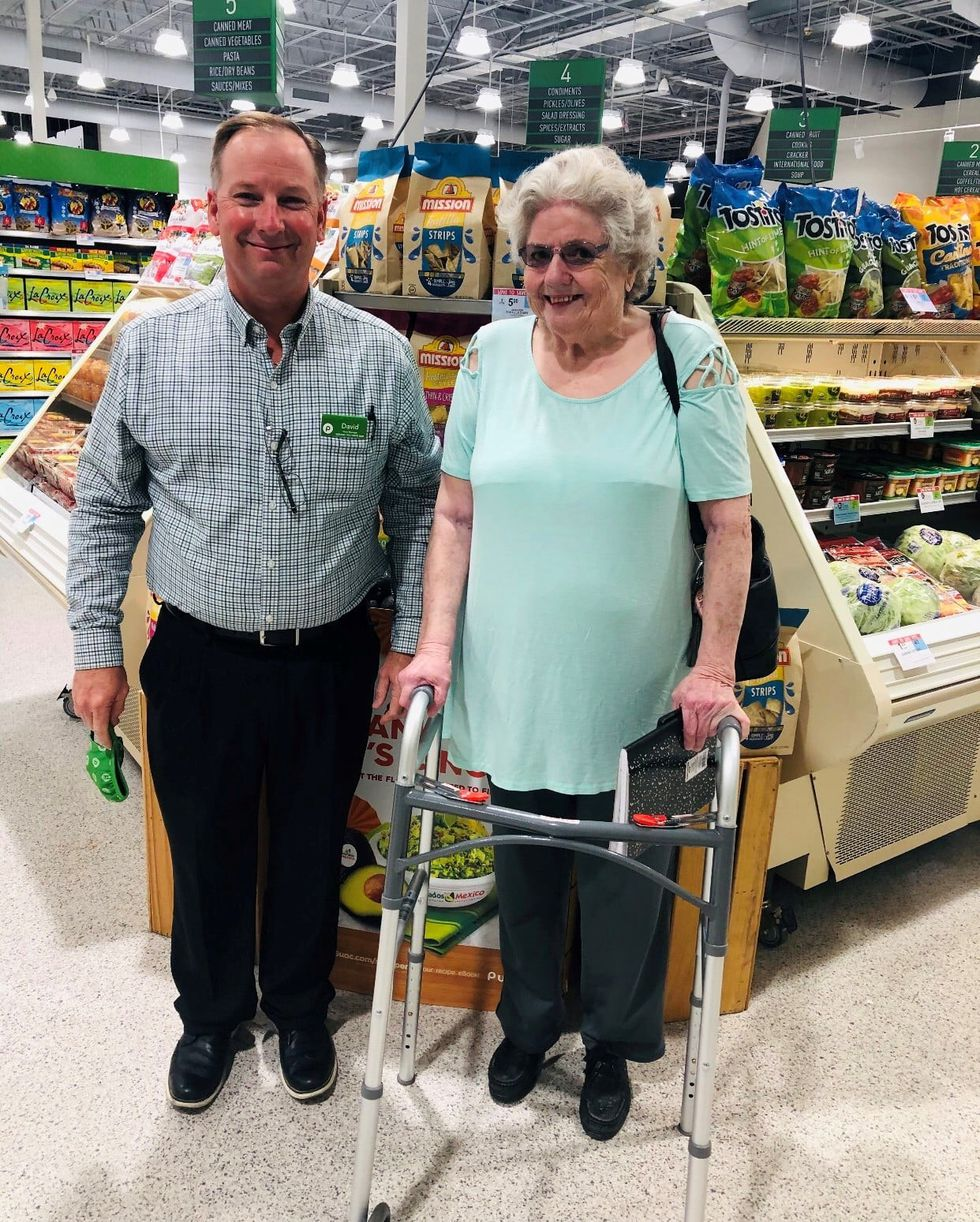 Where Shopping is a Pleasure: Publix manager's act of kindness takes customer service to a new level