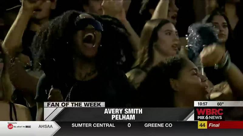 Sideline Fan of the Week