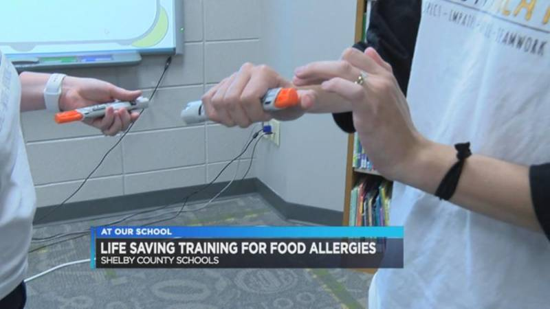 At Your Schools: Teachers train to help students with food allergies