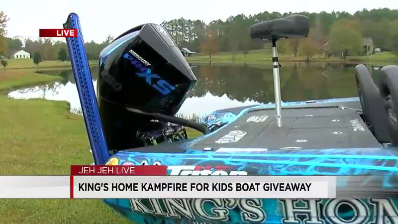 For the last 10 years, Randy Howell has been giving his boat away to raise money for King's...