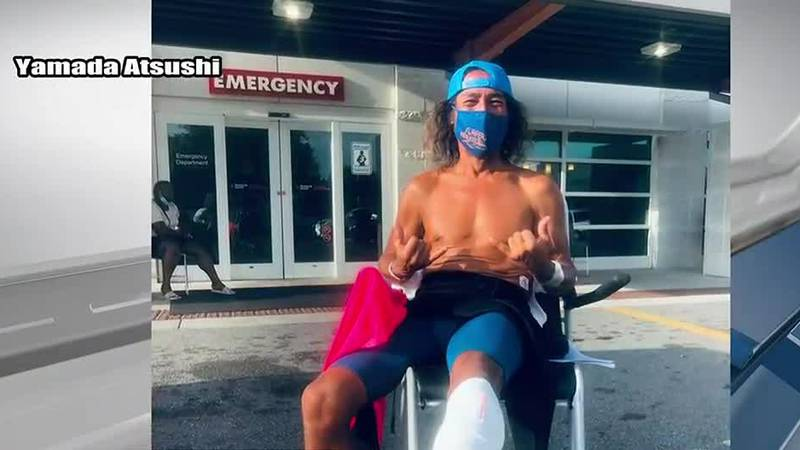 Surf camp instructor recovering from shark bite