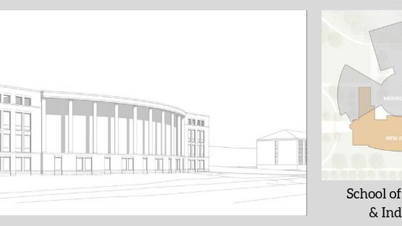 Jacksonville State University releases renderings of what the new business building will look...