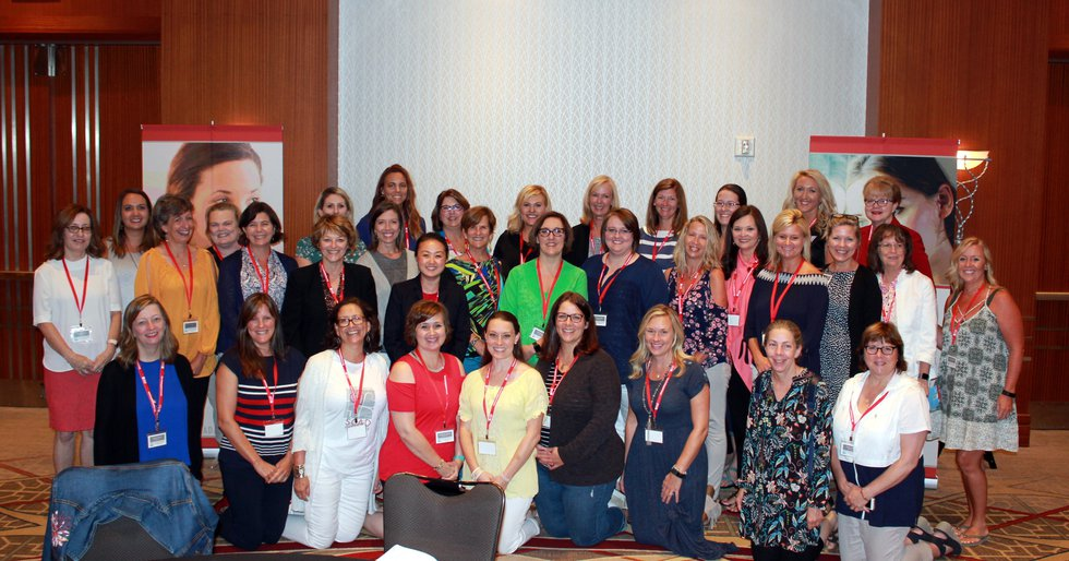 SCAD Survivor Katherine Leon among the women attending SCAD patient symposium at Vanderbilt in...