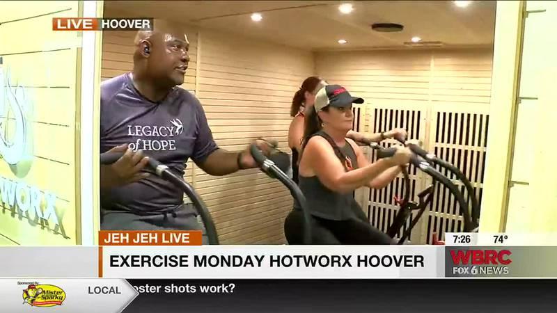 Exercise Monday: Hotworx Hoover