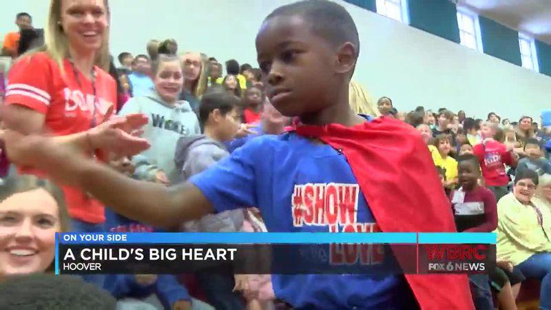 A child's big heart