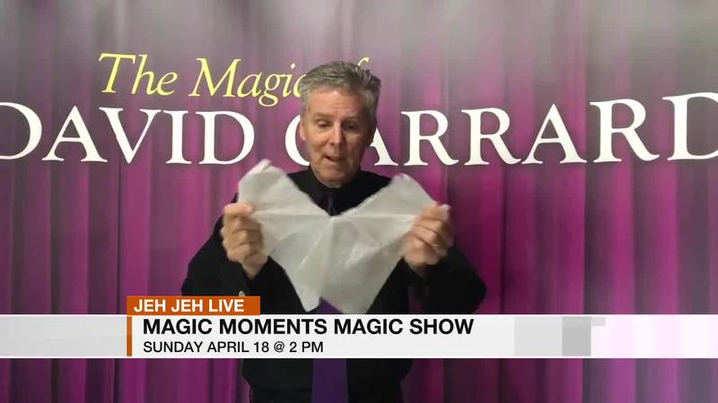 Jeh Jeh joins us live from The Homewood Theatre at Brookwood Village. Magic Moments is having...
