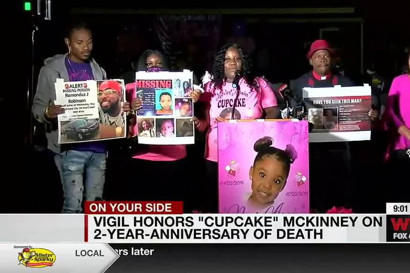 Vigil honors 'Cupcake' McKinney on second anniversary of her death