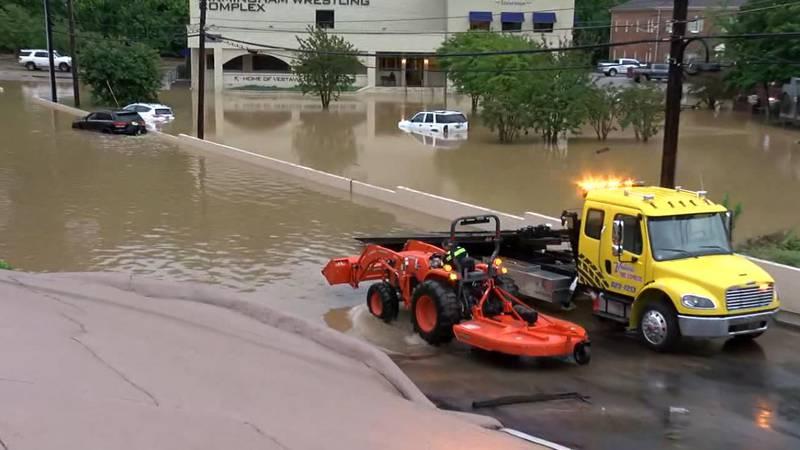 Flooding in Vestavia Hills