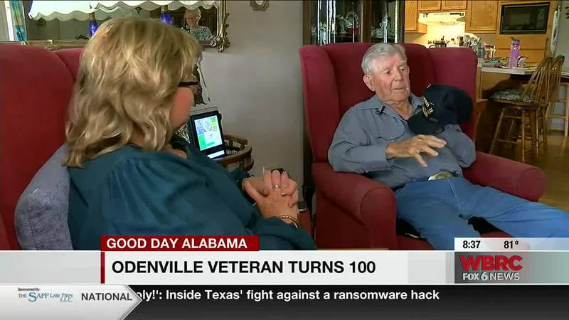 Odenville veteran turns 100