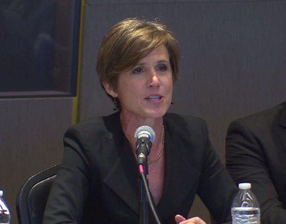 Sally Yates. (Source: File video)
