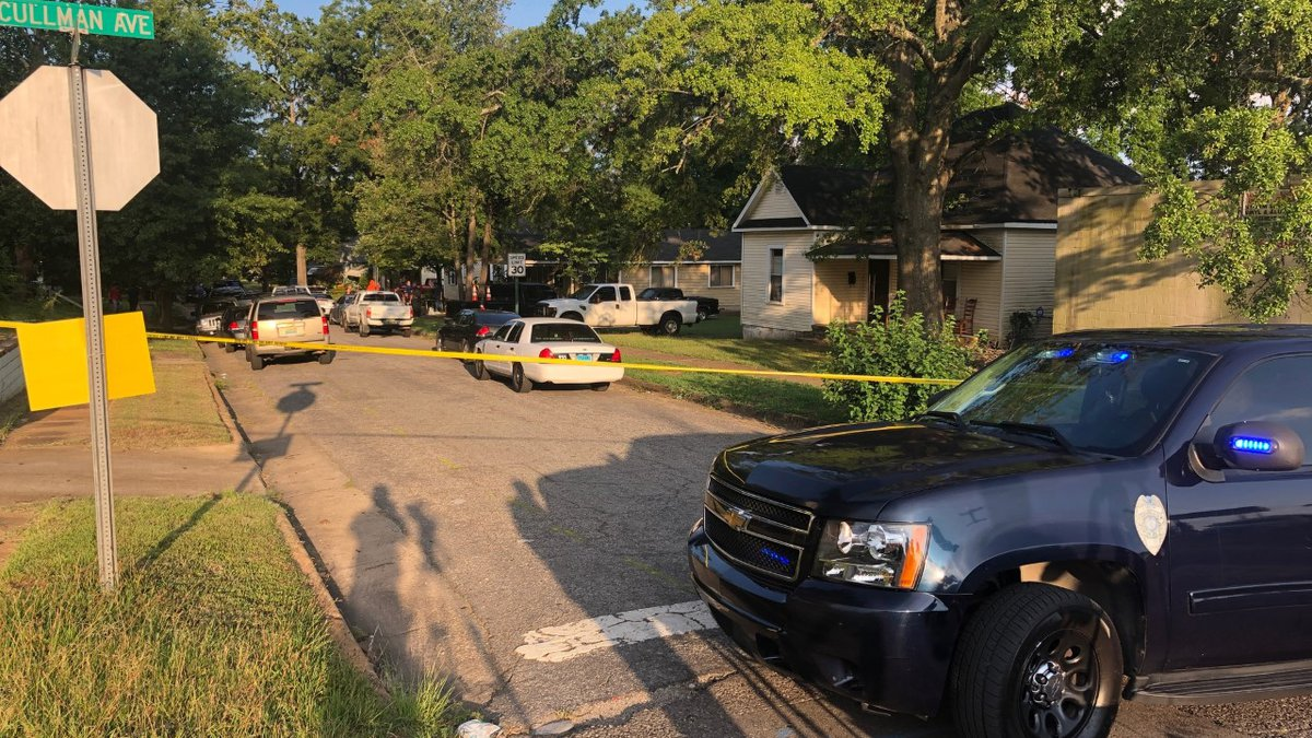 Several officers are at the scene on 31st Street in Ensley.
