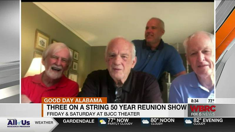 Three On A String will perform this weekend at the BJCC
