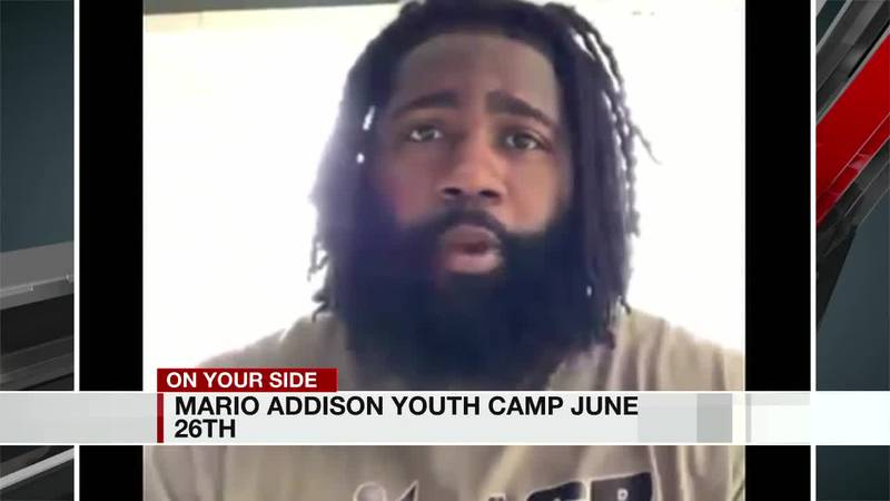 Mario Addison Youth Camp