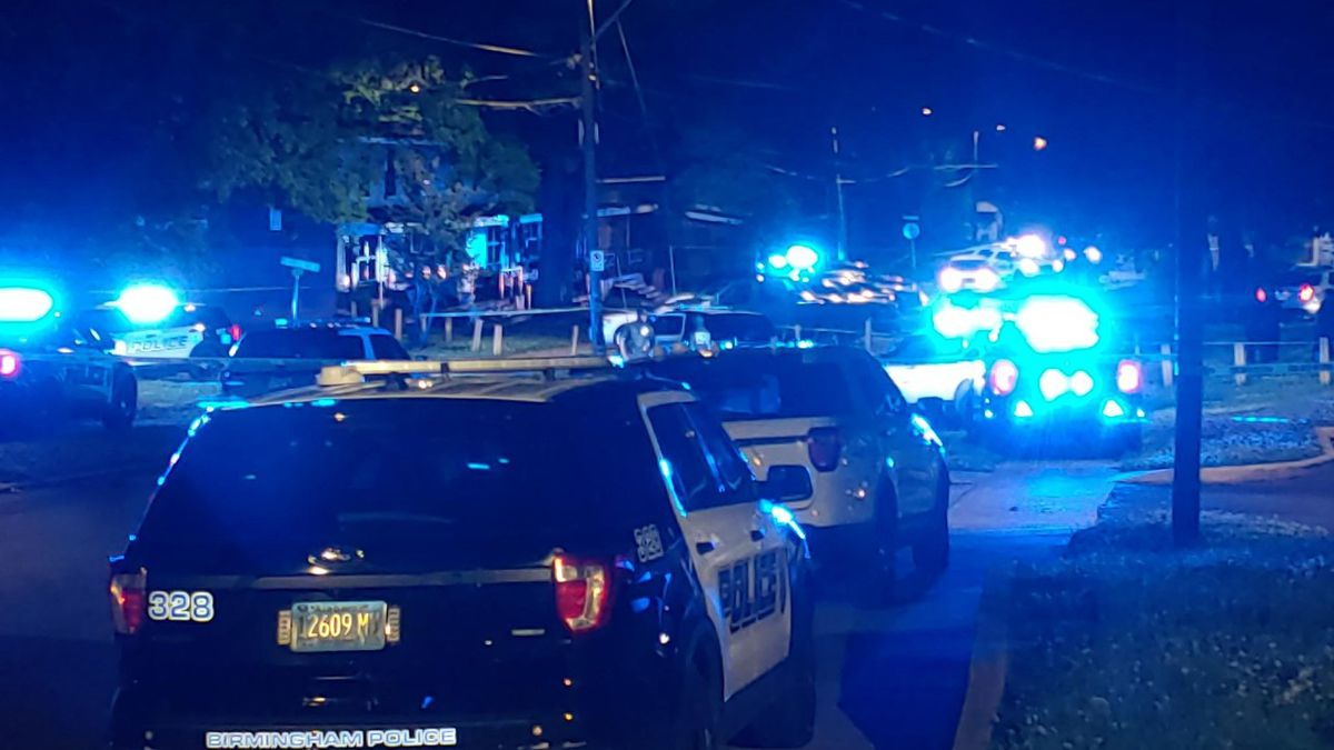 A man was shot and killed in the 800 block of 46th Street North Wednesday night.