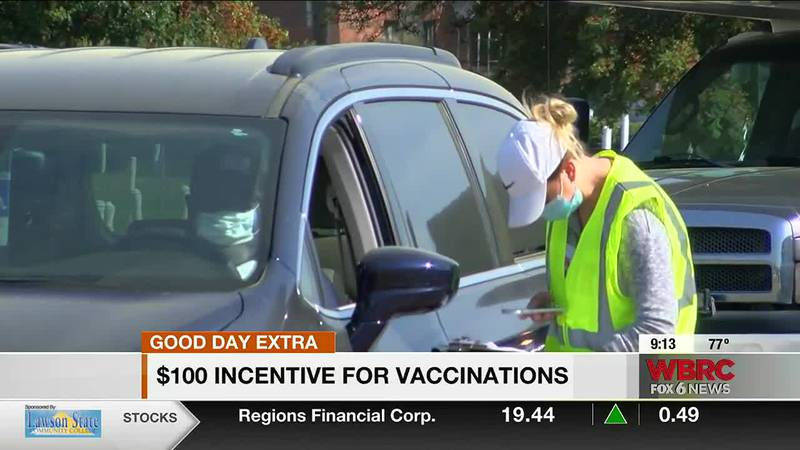 $100 Gadsden vaccine incentive