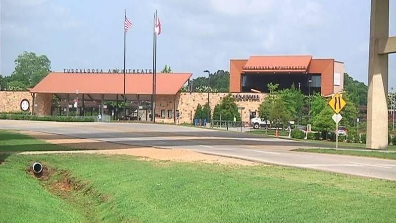 Tuscaloosa Amphitheater. (Source: Terri Brewer/WBRC)