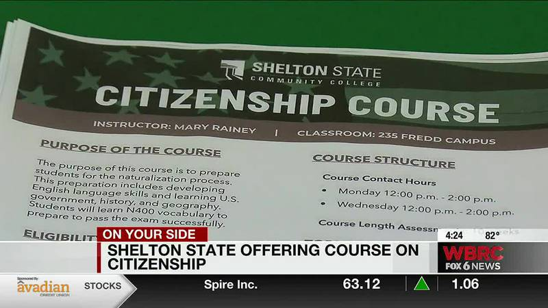 Shelton State offering course on citizenship