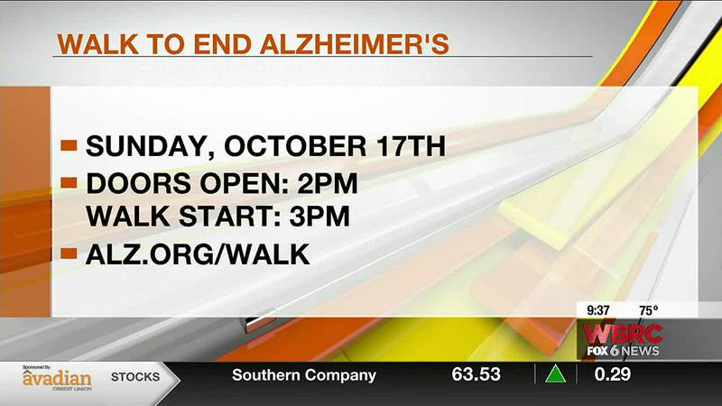 Kimberly Stephens joins us to talk about the Walk to End Alzheimer's on Sunday