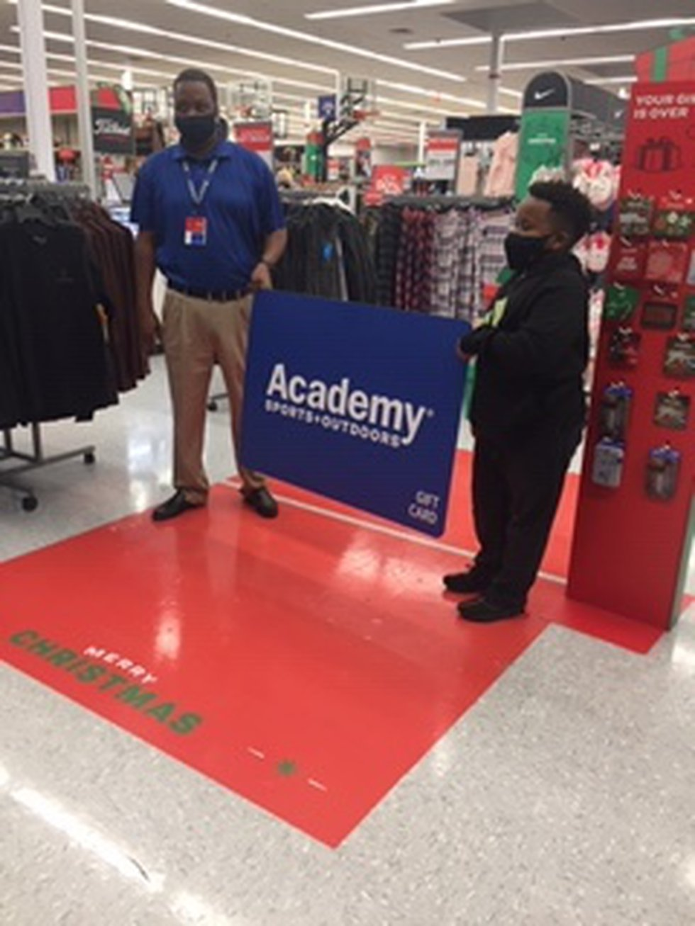 Academy Sports and Outdoors surprises Ethan Hill