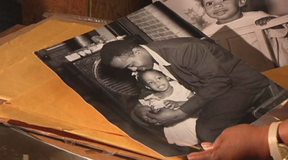 Chris McNair holds his daughter Denise. She was one of the four little girls killed in the...