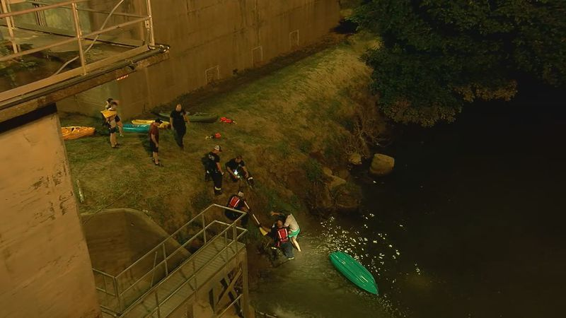 4 Kayakers rescued from Cahaba River