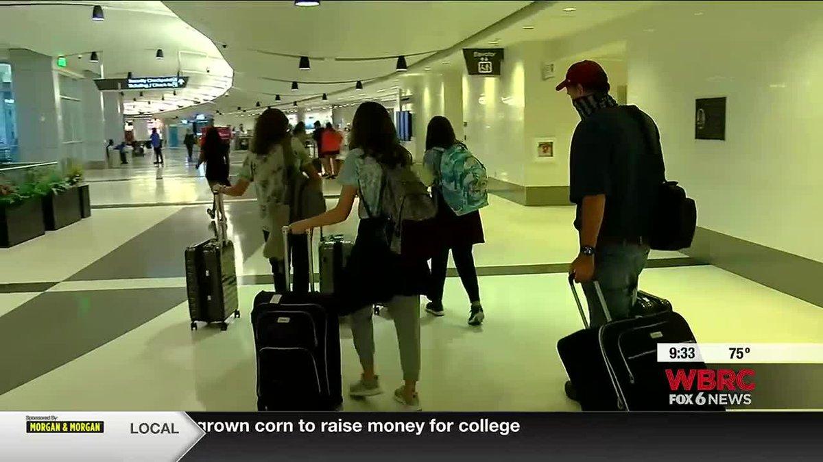 Birmingham airport prepares for increase in travel