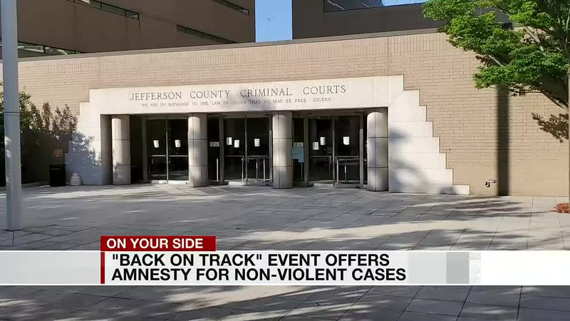 'Back on Track' event offers amnesty for non-violent cases