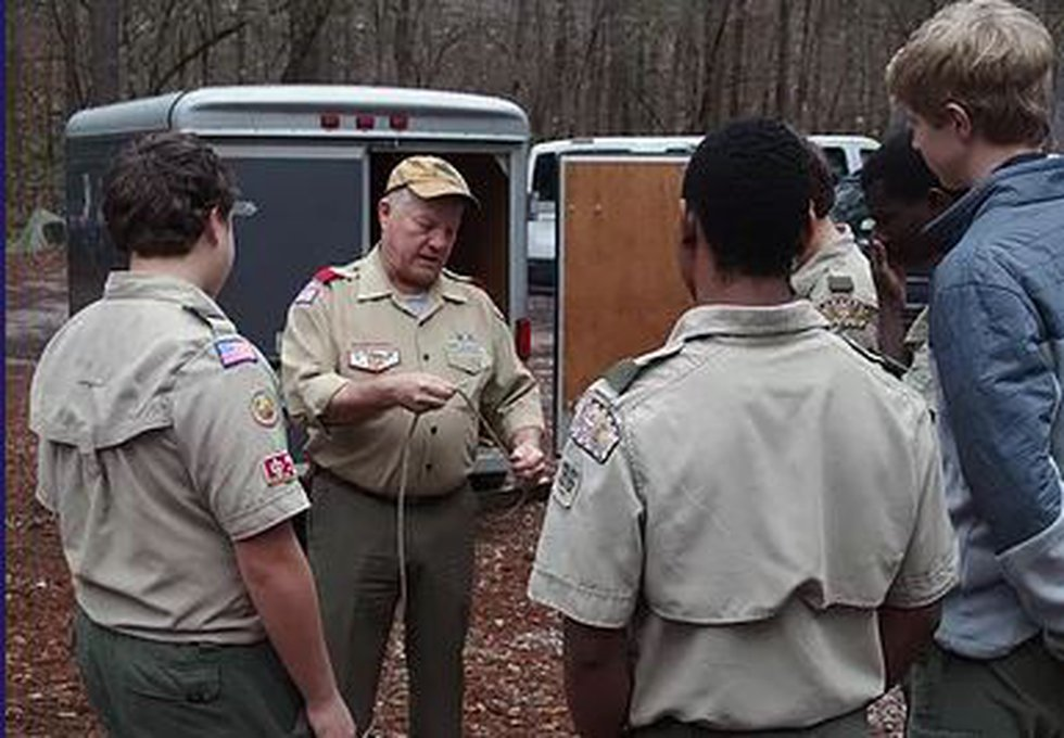 Mike Anderton is an Eagle Scout and remains active with troop 96.