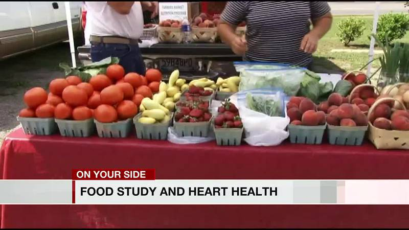 Food study and heart health