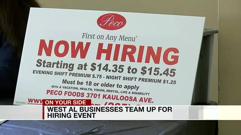 West Alabama businesses team up for hiring event