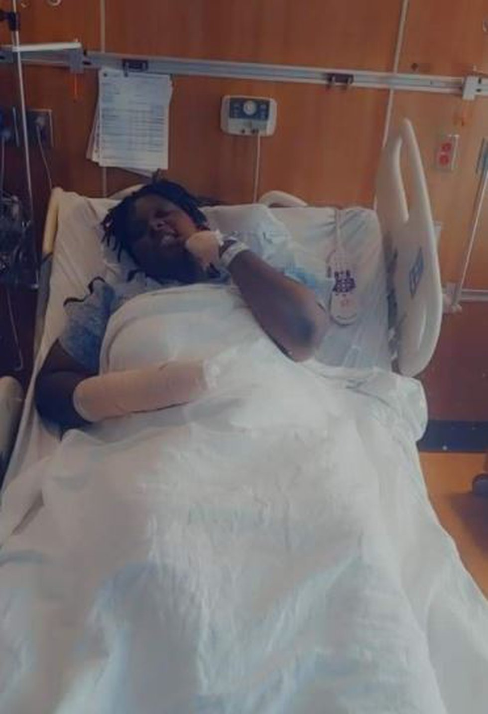 Lakiyah Luckey is back home after surgery