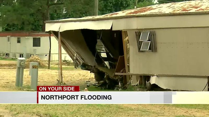 About 20 people in Northport had to be rescued from rising water Saturday nigh, according to...