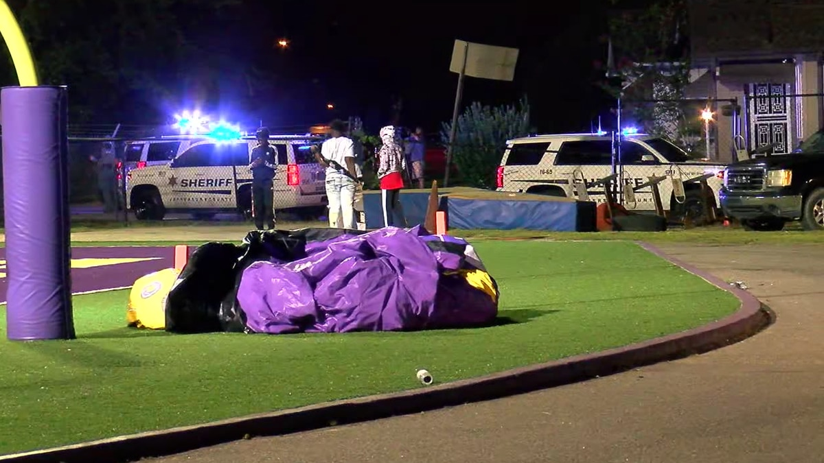 Tailgater shot at Fairfield football game; no suspects in custody