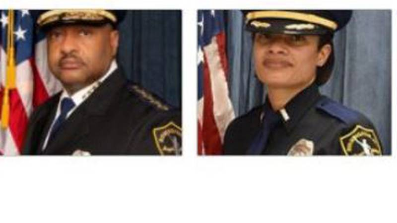 BPD Chief Patrick Smith and BPD Assistant Chief LaQuaylin Parhm-Mack