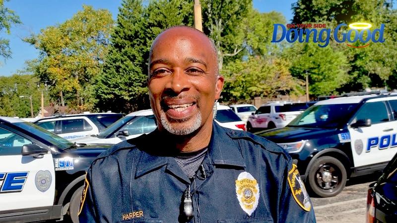 """Officer Lane Harper """"Doing Good."""""""