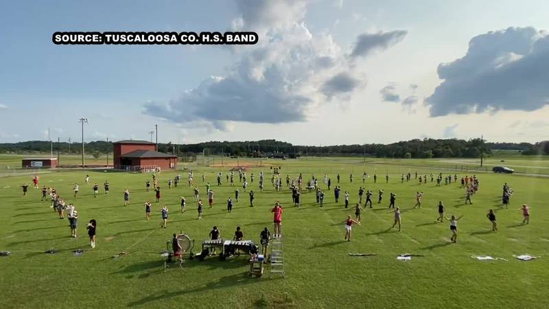 The Tuscaloosa County High School Marching Band is 160 members strong and is under the...
