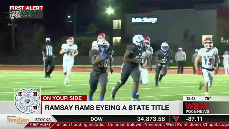 Ramsay HS Rams eyeing state title.