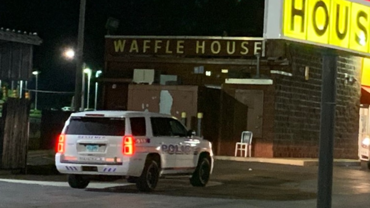 A woman was injured after shots were fired in a Bessemer Waffle House parking lot.
