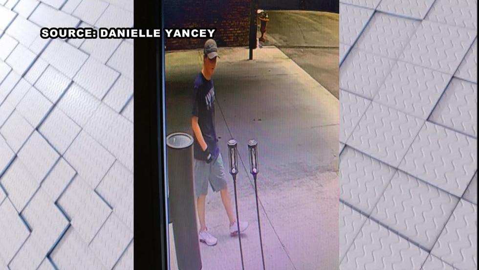 Video surveillance captured a man suspected of burglarizing a Mountain Brook home.